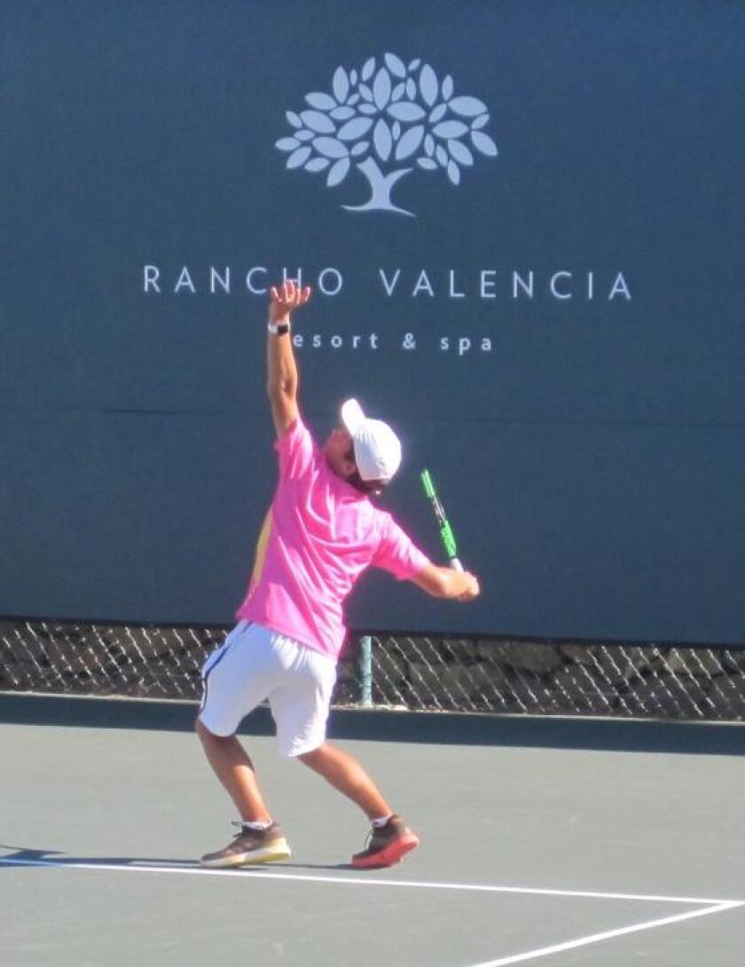 The tennis tournament at Rancho Valencia Resort & Spa