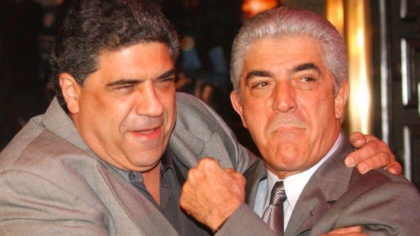 Veteran actor and 'Sopranos' mobster Frank Vincent dies at