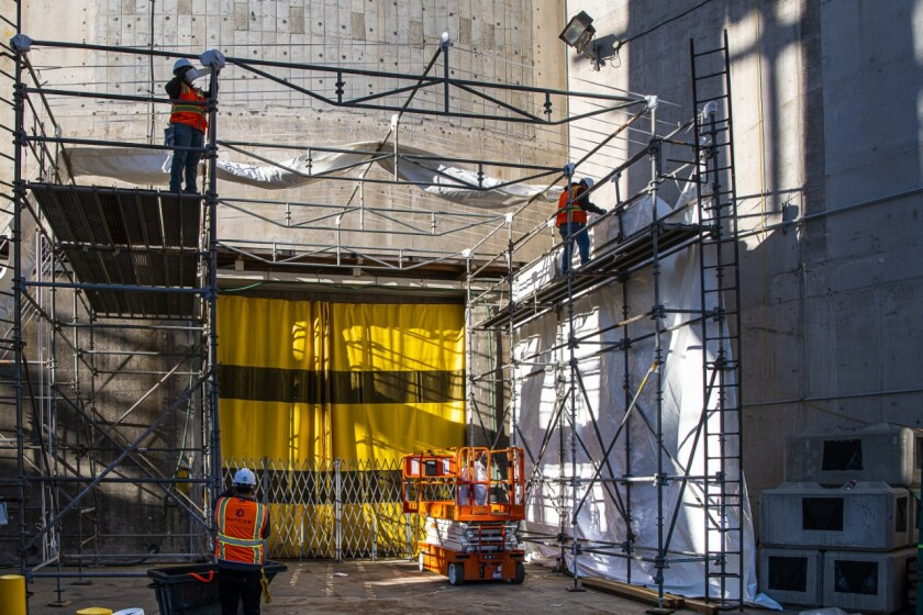 More pre-dismantlement work at the San Onofre Nuclear Generating Station