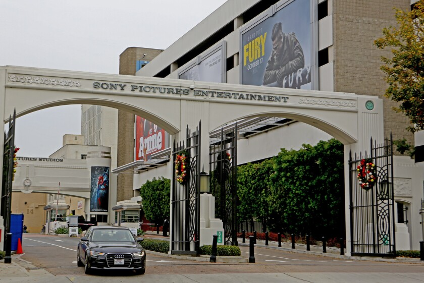 Sony Pictures Studios in Culver City is assisting the FBI in looking into the security breach.