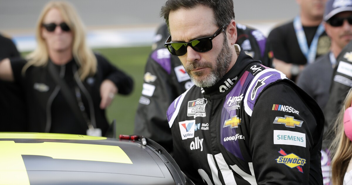Jimmie Johnson becomes first NASCAR driver to test positive for the coronavirus