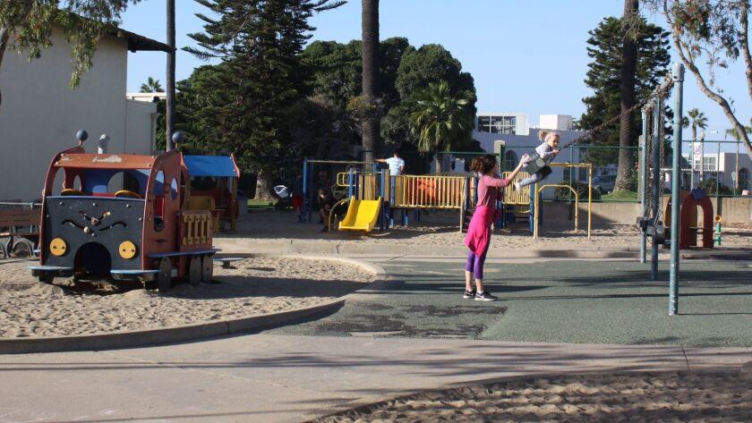La Jolla Rec Center playground