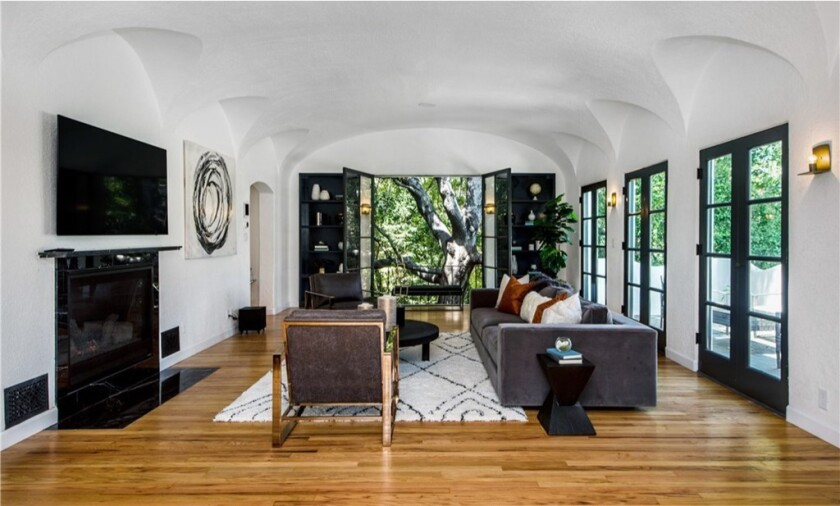 Actress Ashley Benson paints it black, then sells Los Feliz abode