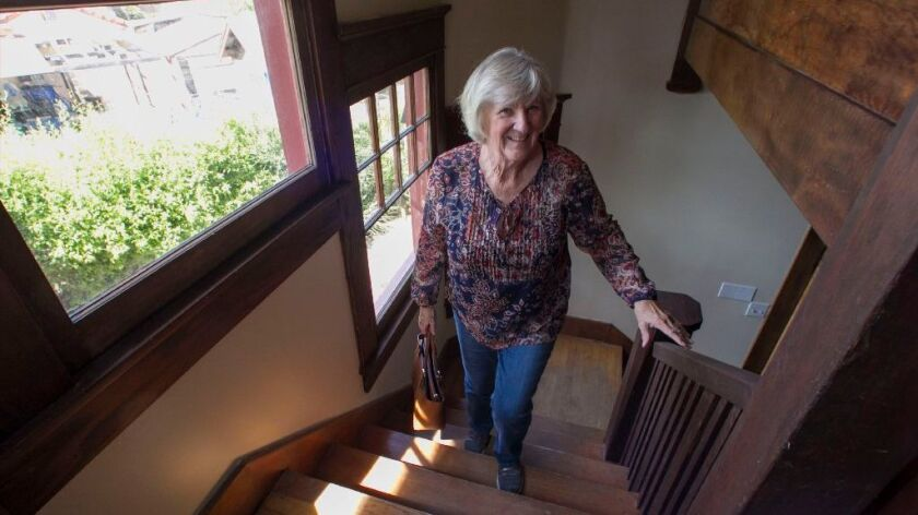 Bev Ryan tours the home she used to play at as a young girl