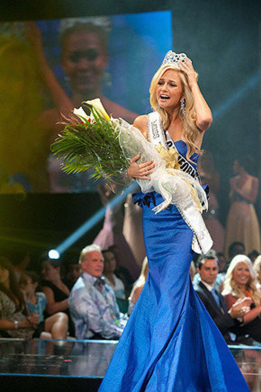"""FBI is investigating a """"sextortion case"""" involving Orange County teen Cassidy Wolf, who was crowned Miss Teen USA 2013, and other women."""