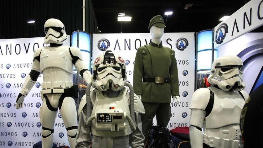Anovos is a companry that makes replica outfits from Star Wars. (John Gastaldo)