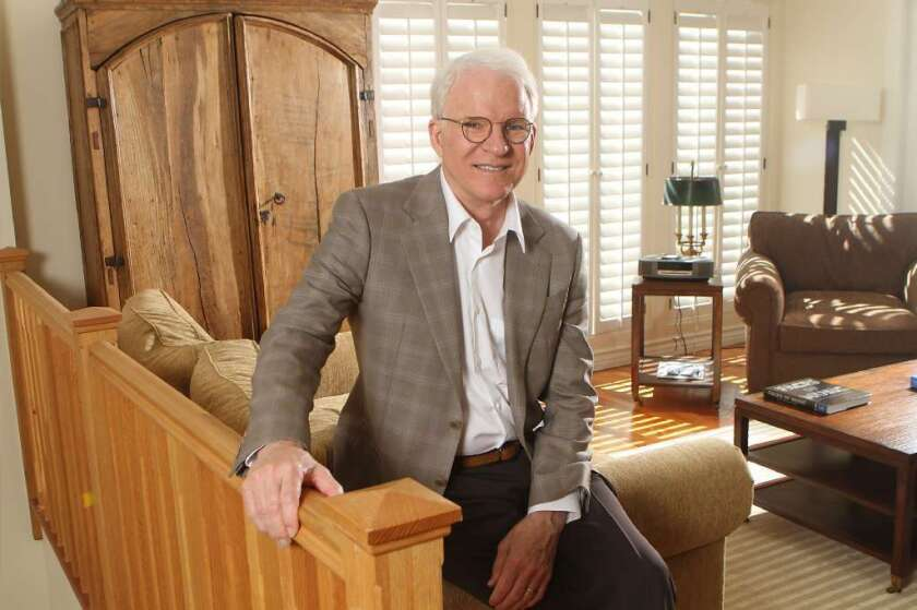 Steve Martin will co-curate an exhibition of art by Lawren Harris at the Hammer Museum in 2015.