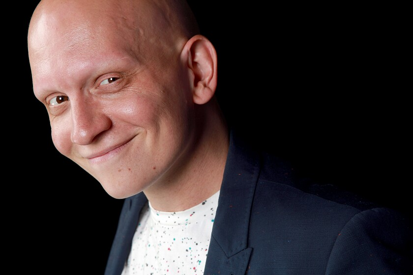 "Anthony Carrigan, Emmy nominee for playing NoHo Hank on ""Barry."""