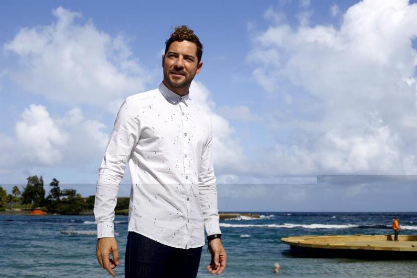 """El cantante español David Bisbal dijo hoy que con el disco """"Hijos del mar"""", el sexto álbum de estudio del intérprete, quiso hacer algo nuevo en su carrera, durante un encuentro con la prensa en Puerto Rico para promocionar su nuevo trabajo. EFE"""