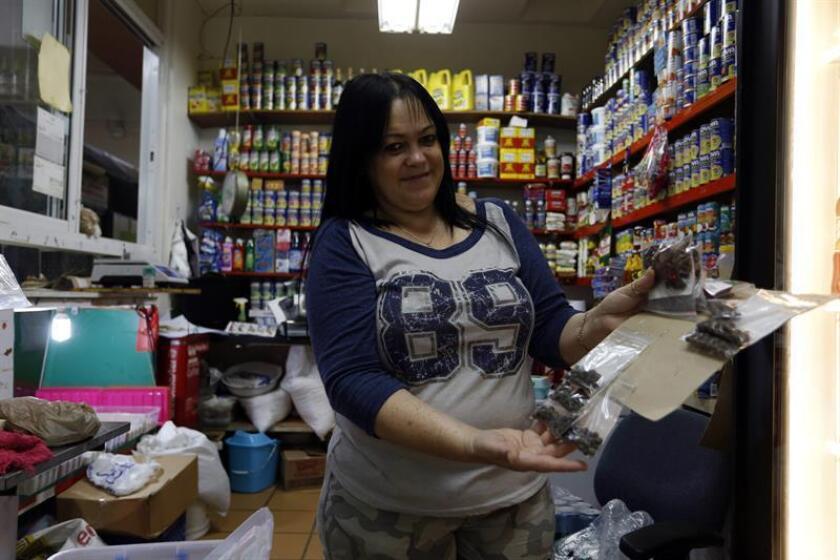 Fotografía de una persona en un comercio de Puerto Rico. EFE/Archivo