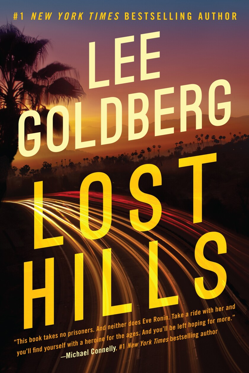 """Book jacket for """"Lost Hills"""" by Lee Goldberg"""