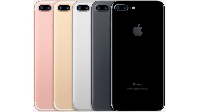 Apple introduced the iPhone 7 (5.44 inches tall) and iPhone 7 Plus (6.23 inches tall) in September 2016; available in rose gold, gold, silver, black and jet black colors at 32GB, 128GB and 256GB models. Prices range from $649 to $969.