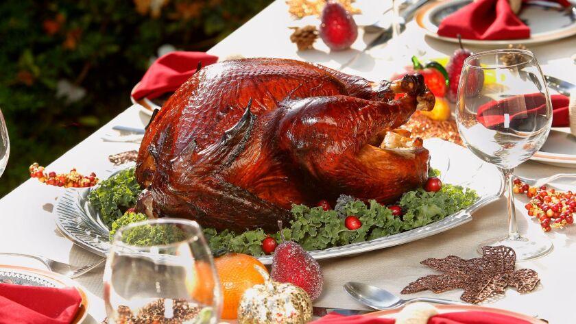 Smoked maple turkey.