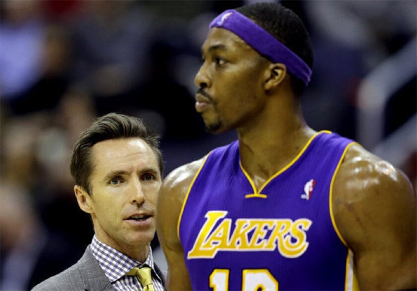 Dwight Howard expects Steve Nash to orchestrate a more cohesive offense, resulting in fewer turnovers.
