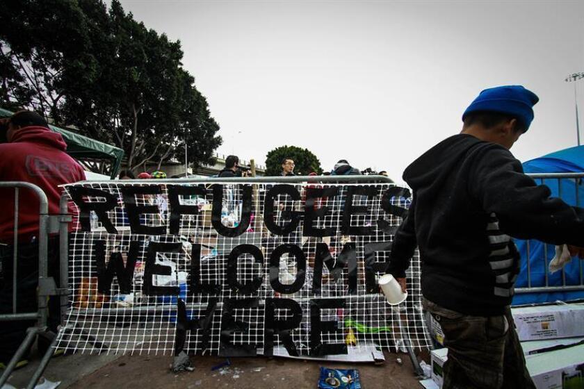 El Gobierno del presidente, Donald Trump, anunció hoy cambios en las políticas migratorias de concesión de asilo en la frontera con México, que conllevarían, si el mandatario lo requiere, reducir las opciones para demandar este amparo. EFE/ARCHIVO