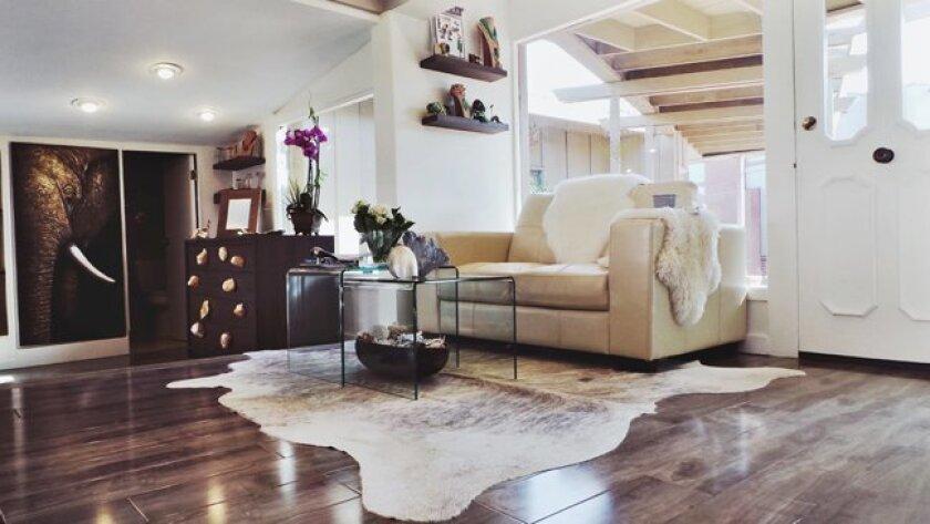 Leslie Fastlicht Russo's studio in La Jolla for LFR Designs