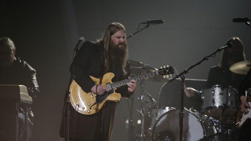 Chris Stapleton at the 2016 Grammy Awards.