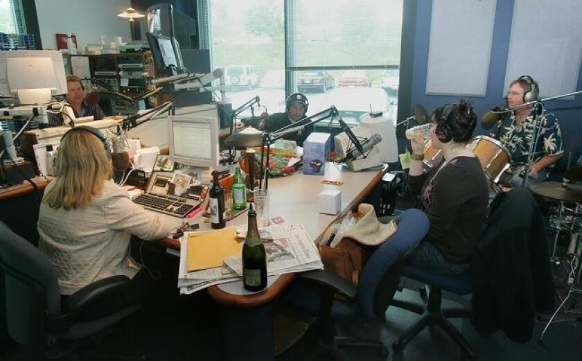 The sprawling morning show known as Dave, Shelly and Chainsaw was no longer on the air at KGB radio as of this morning, Jan. 4, 2009.