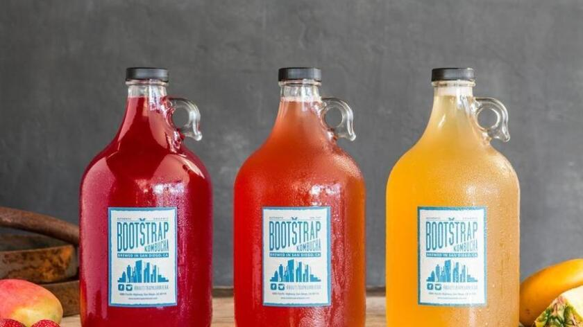 Bootstrap Kombucha, a brand new storefront and wholesale producer off Pacific Highway, makes incredible kombuchas that will make your jaw drop with delight. (Sam Wells Photography)