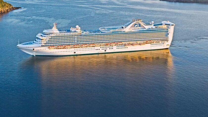 Princess Cruise Lines has agreed to pay a $40-million fine and plead guilty for the illegal dumping of waste off the coast of England by the crew of the Caribbean Princess.