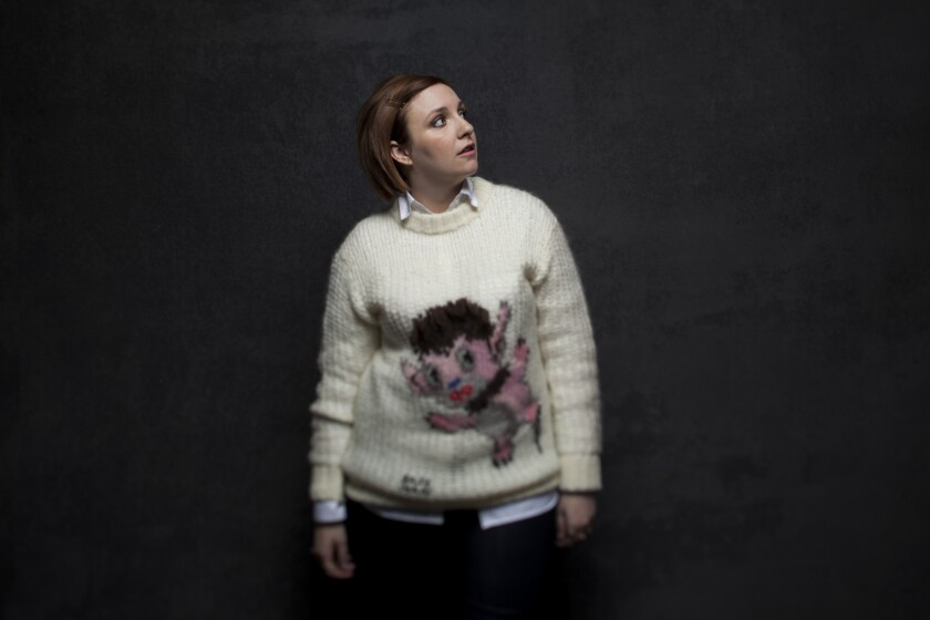 Lena Dunham posed the idea of a documentary about Hilary Knight.