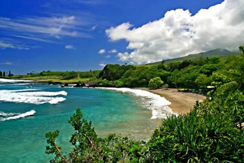 A beach near the eastern tip of Maui. Justices upheld lawsuits from environmental groups in Hawaii who had sued over sewage in Maui.