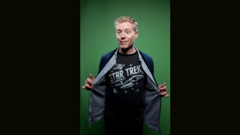 """Anthony Rapp, from the television series """"Star Trek Discovery."""""""