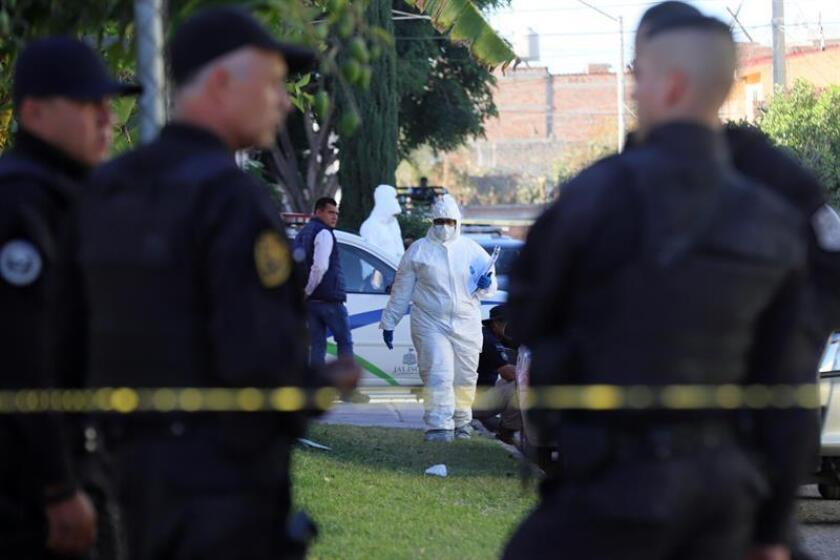Una candidata a diputada y una regidora fueron asesinadas a balazos la madrugada de este sábado en el central estado de Puebla, con lo que aumenta la cifra de políticos muertos de manera violenta durante el actual proceso electoral en México. EFE/Archivo