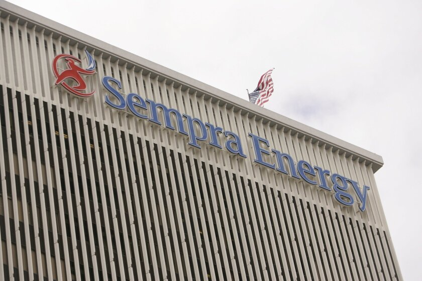 Sempra Energy is the parent company of San Diego Gas & Electric.