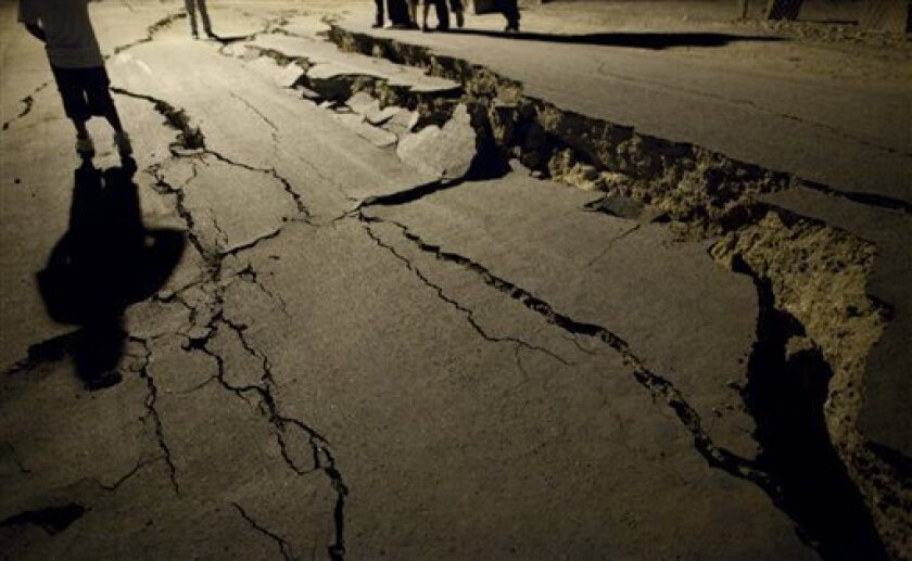 Baja Earthquake