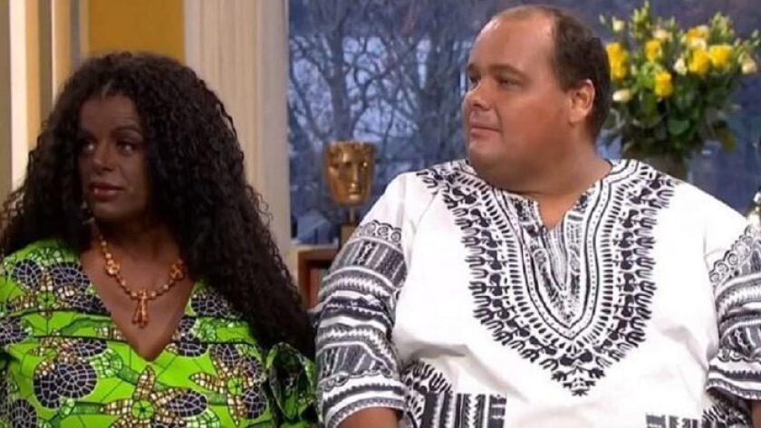 Matrina Big y Michael Eurwen creen ser negros a pesar de ser blancos.