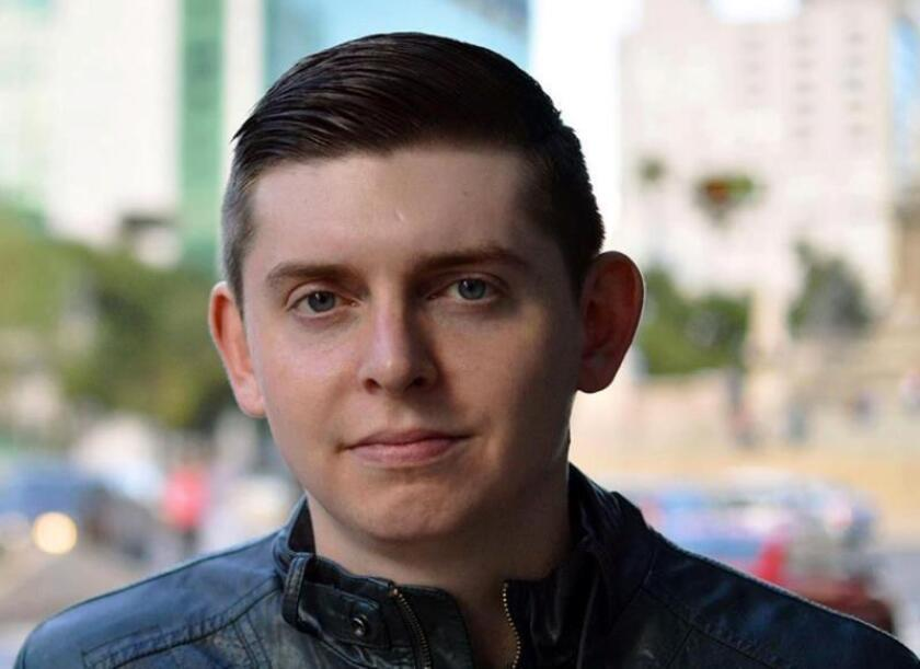 Facebook profile photo showing US reporter Cory Weddle, who was arrested on March 6, 2019, in Caracas by Venezuelan military counterintelligence officials and taken in for questioning but released soon thereafter, whereupon he traveled to Miami after being deported from the South American country. EFE-EPA/Cody Weddle/Facebook