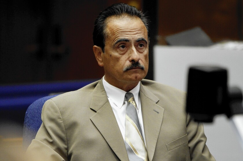 Former Los Angeles City Councilman Richard Alarcon, during opening statements in his perjury and voter fraud trial that is set to resume this week.