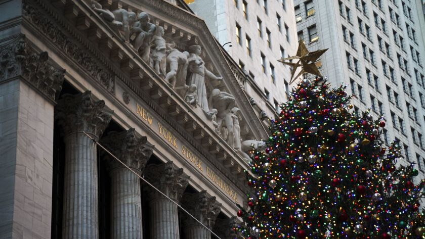 Stocks Rise After Federal Reserve Announcement Of Rate Hike