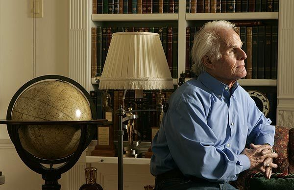 """Richard Zanuck is photographed in his Beverly Hills home Feb. 10, 2010. He had four decades of hit films, including """"The Sound of Music"""" and """"Jaws."""""""