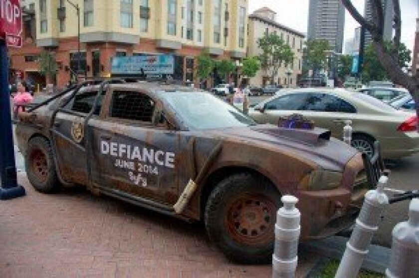 Dodge Charger from Defiance