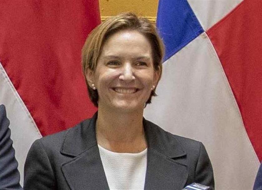 En la imagen un registro de la ministra de Comercio Exterior de Costa Rica, Dyalá Jiménez, quien se encuentra en México para liderar una gira de trabajo que tiene como objetivo promover a Costa Rica como destino para la inversión. EFE/Archivo