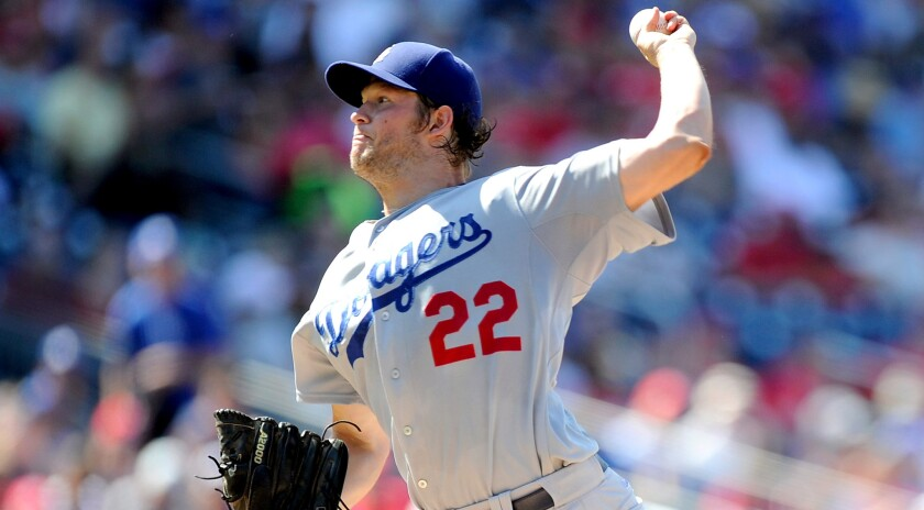 Dodgers pitcher Clayton Kershaw will not start Friday against the Angels as scheduled. Zack Greinke will start in his place.