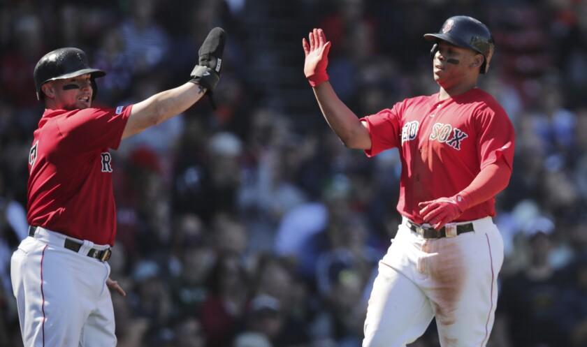 Giants Red Sox Baseball
