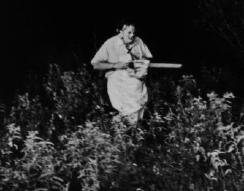 "Was Leatherface of ""The Texas Chain Saw Massacre"" in Inga's youngest son's bedroom in 1987? It sure sounded like it."