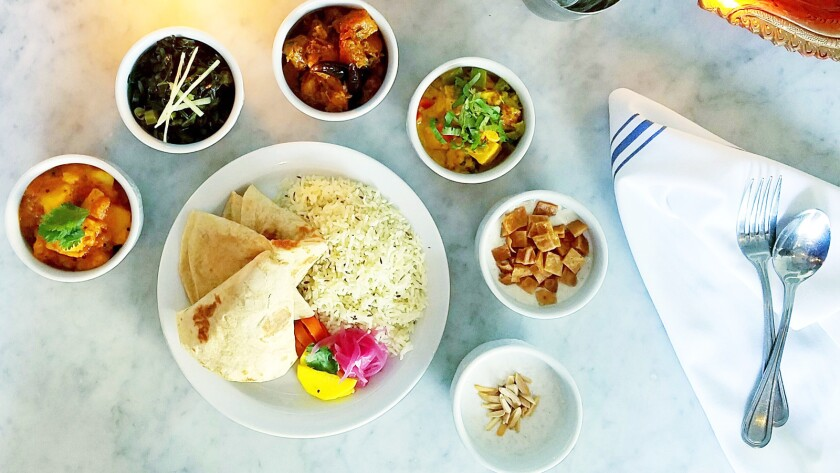 Badmaash in downtown L.A. is just one of the area restaurants serving up special Diwali feasts for the Hindu festival of lights.