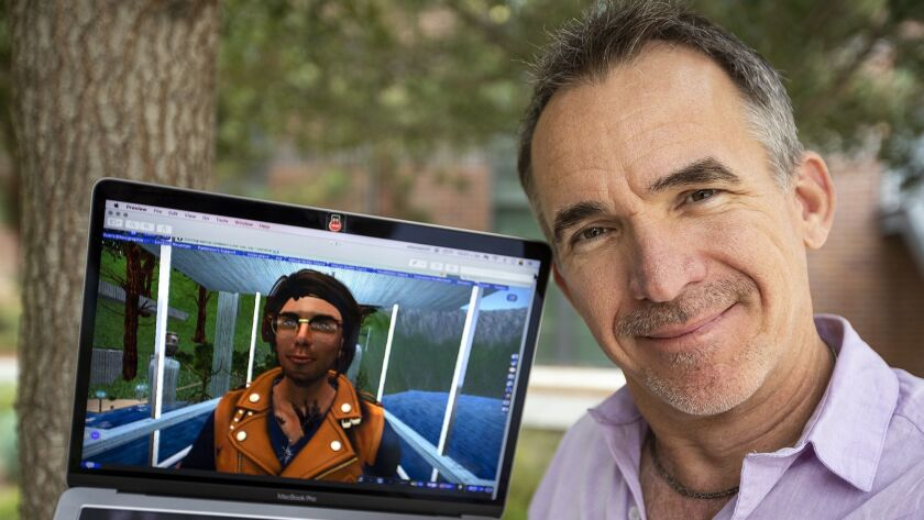 Tom Boellstorff is an anthropology professor at UCI. Boellstorff researches how disabled people use
