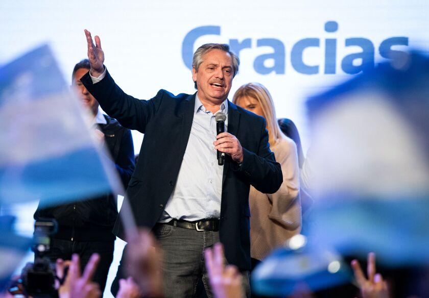 Alberto Fernandez, candidate for president of Argentina