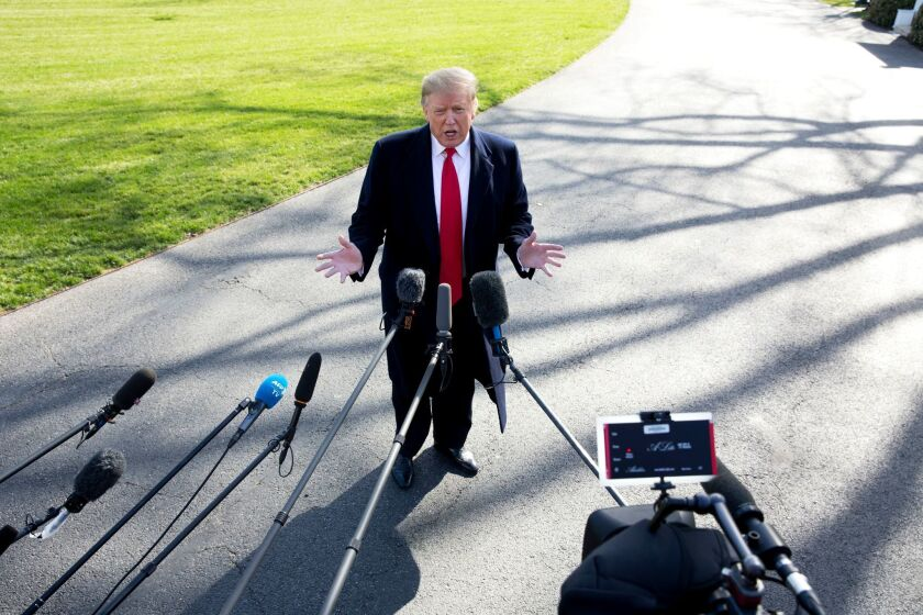 President Trump is driving the impeachment story with his accessibility to reporters, according to CNN's Sam Feist.