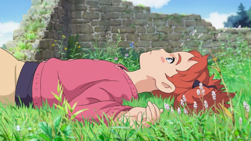 A still from 'Mary and the Witch's Flower.' A film by Hiromasa Yonebayashi. From Academy Award(R)-no