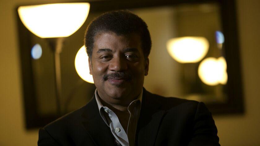 LOS ANGELES, CALIF. - DEC. 14, 2013. Astrophysicist Neil Degrasse Tyson will host the new documenta