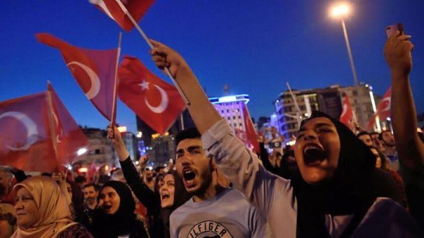 Turquía se ha polarizado en los últimos años luego de más de una década de gobiernos encabezados por Recep Tayyip Erdogan.