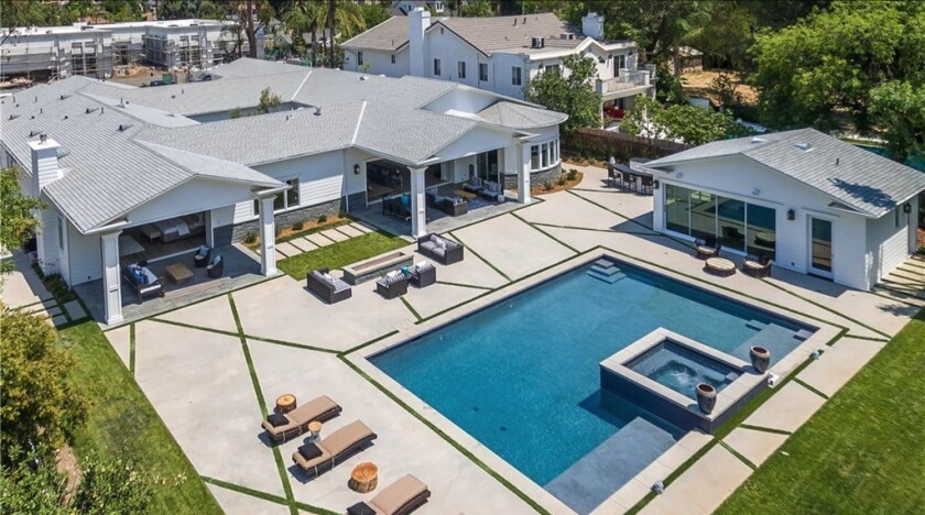 James Farrior's Tarzana home | Hot Property