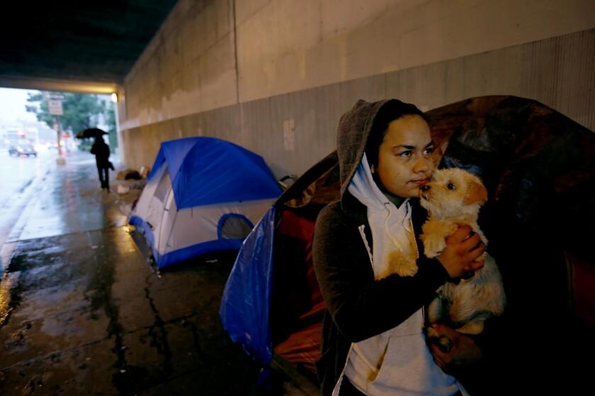Indigentes en L.A.