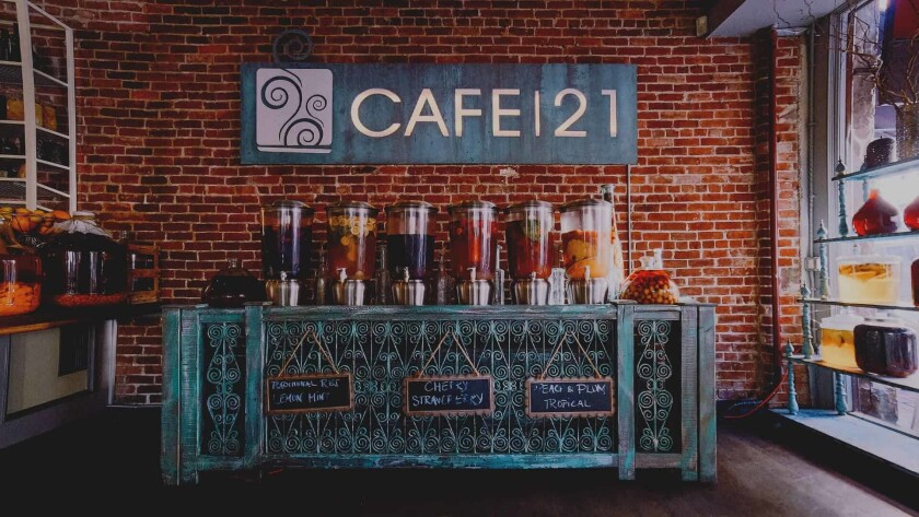 Sangria at Cafe 21
